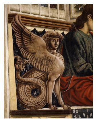 Decorative Sphinx, from the Last Supper, Fresco C.1444-50 (Detail)