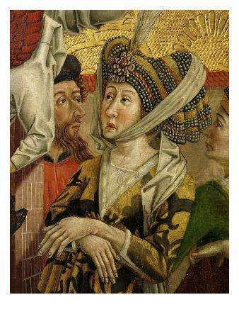 Empress of Alexandria (Wife of Maximinus), from Altarpiece of Saint Catherine, 1480 (Panel Detail)