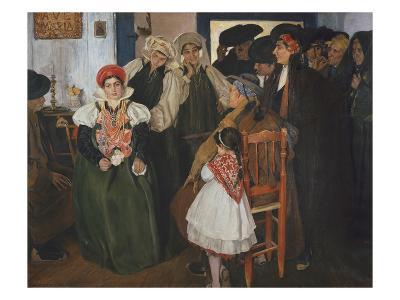 Wedding at Ansó, 1904