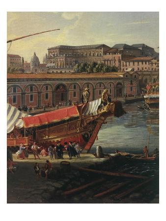 Loading a Ship, Arsenal at Naples, 1711 (Inv 70), Detail