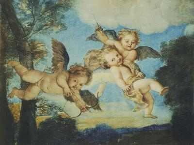 Cupids Playing, Drawing, 18th Century
