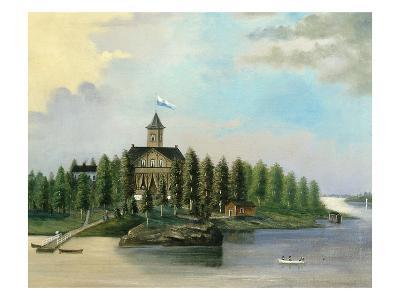 Finnish House on Jatkassaari Island, Late 19th Century