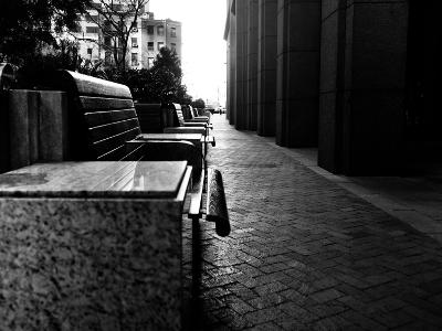 A Line of Benches