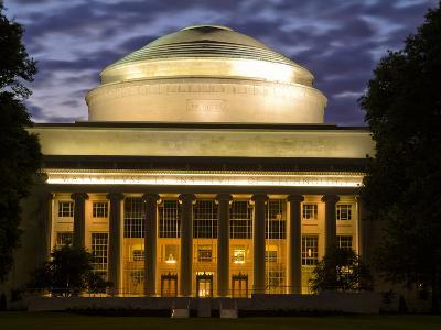 The Great Dome Overlooking M.I.T.'s Killian Court