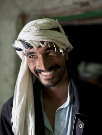 A Young Farmer in the Panjshir Valley Smiles for the Camera