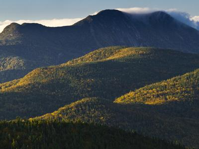 The Adirondack Mountains at Sunrise from Atop Cascade Mountain