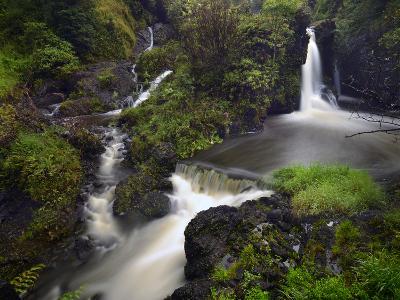 A Waterfall on Maui Island
