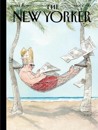 The New Yorker Cover - March 11, 2013