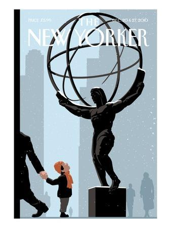 The New Yorker Cover - December 20, 2010