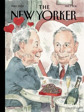 The New Yorker Cover - February 7, 2011