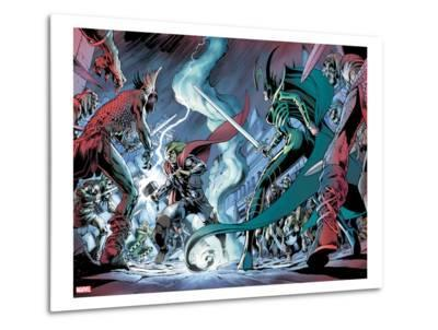 Avengers Prime No.3: Thor and Hela Fighting