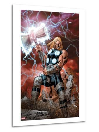 Ultimate Thor No.1 Cover: Thor Posing