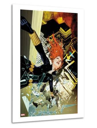 Black Widow No.7 Cover: Black Widow Falling