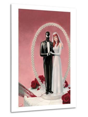 The Amazing Spider-Man No.639 Cover: Spider-Man and Mary Jane Watson