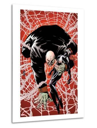 Spider-Island: The Amazing Spider-Girl No.2 Cover: Kingpin Crawling with Spider-Girl