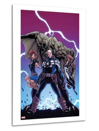 Onslaught Unleashed No.3 Cover: Steve Rogers, Nomad and Spider-Girl