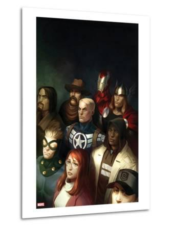 Fear Itself: The Home Front No.1 Cover: Steve Rogers, Thor, and Iron Man