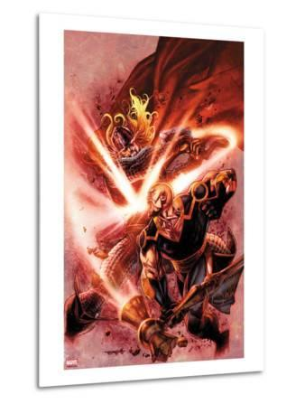 Thor: The Deviants Saga No.4 Cover: Thor and Phastos Fighting