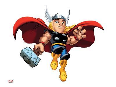 Marvel Super Hero Squad: Thor Flying