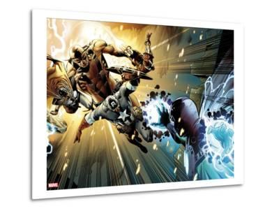 Captain America: Man out of Time No.5: Captain America, Thor, Giant Man, and Iron Man Charging