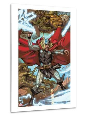 Thor: Heaven and Earth No.3: Thor Smashing with Mjolnir