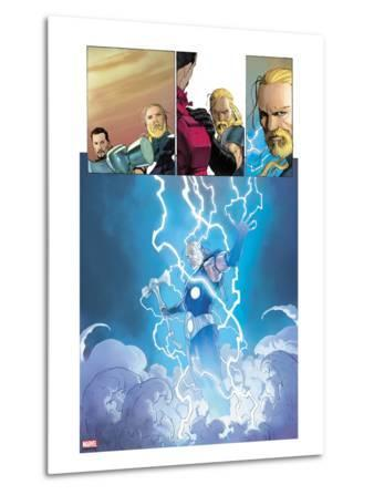 Ultimate Comics Ultimates No.3: Thor Flying in Lightining and Energy