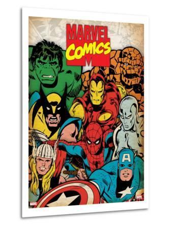 Marvel Comics Retro: Hulk, Thor, Spider-Man, Wolverine, Captain America, Iron Man and Silver Surfer