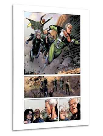 Avengers: The Childrens Crusade No.4: Panels with Quicksilver and Speed