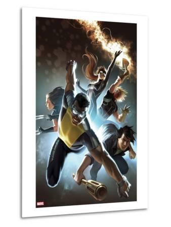 Fear Itself: The Home Front No.6 Cover: Power Man, Amadeus Cho, X-23, Spider-Girl, & Thunderstrike