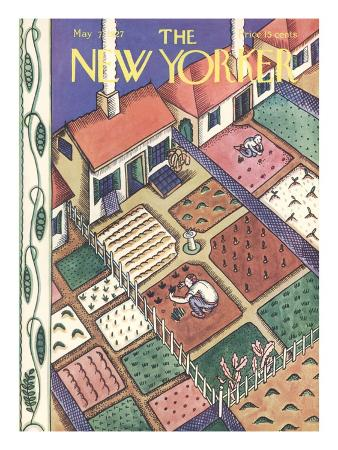 The New Yorker Cover - May 7, 1927