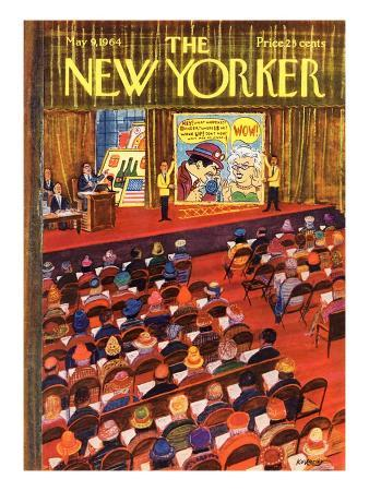 The New Yorker Cover - May 9, 1964