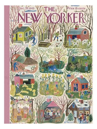 The New Yorker Cover - December 29, 1945