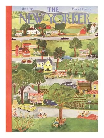 The New Yorker Cover - July 5, 1952