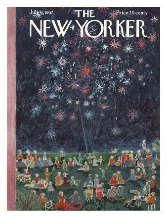 The New Yorker Cover - July 6, 1957
