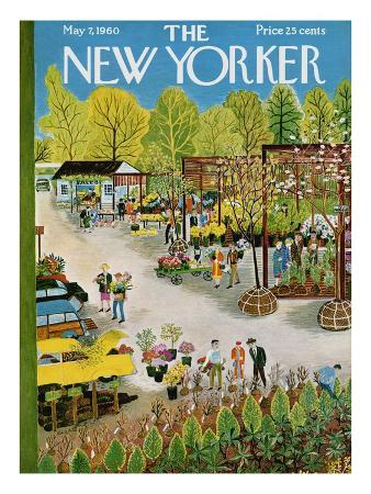 The New Yorker Cover - May 7, 1960