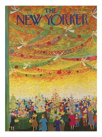 The New Yorker Cover - December 7, 1963