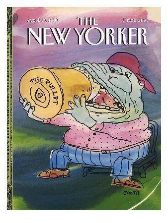 The New Yorker Cover - April 19, 1993