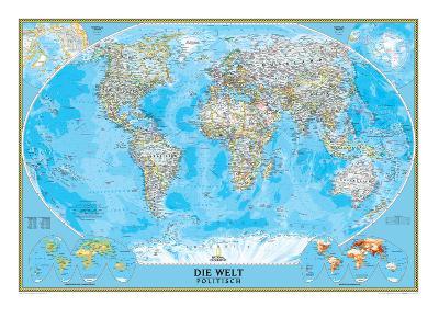 German Classic World Map