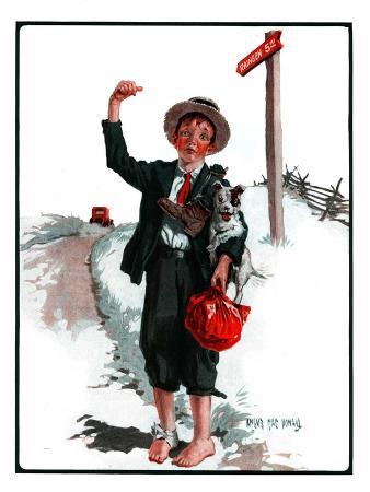 """Hitchhiking Boy,""May 23, 1925"