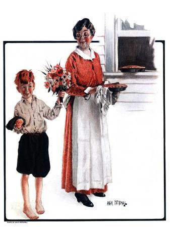 """Flowers for Pie,""June 6, 1925"