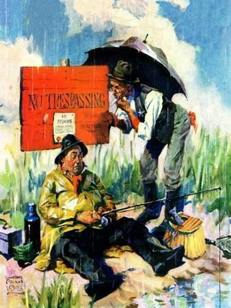"""""""'No Trespassing',""""April 1, 1928"""