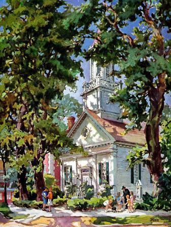 """Steepled Church,""April 1, 1939"