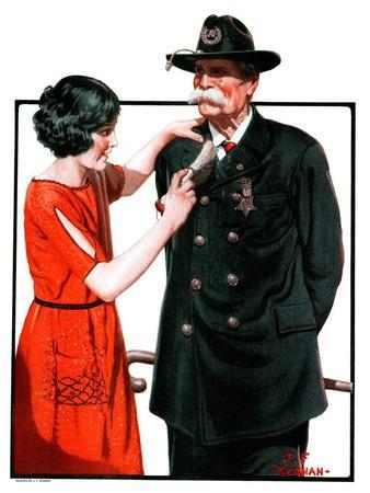 """""""Dusting Off Grandfather's Uniform,""""May 26, 1923"""