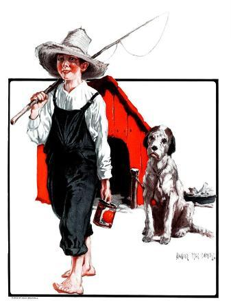 """""""Gone Fishing Without Fido,""""August 11, 1923"""