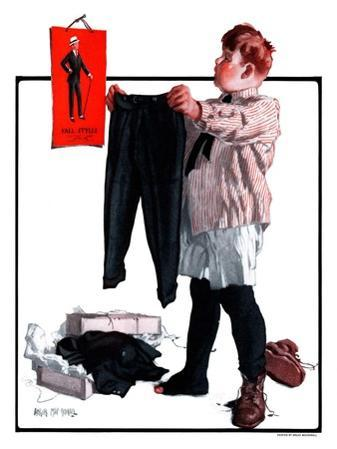 """First Pair of Long Pants,""October 6, 1923"