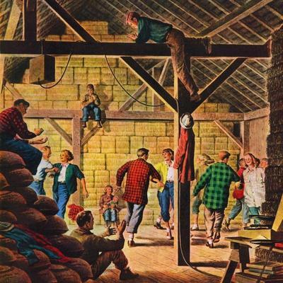 """""""Square Dance in the Barn,""""November 1, 1947"""