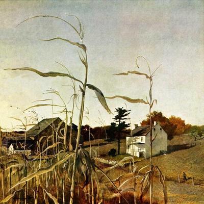 """""""Autumn Cornfield,""""October 1, 1950"""