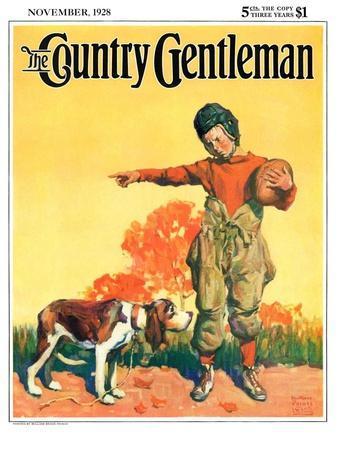 """Go Home, Boy!,"" Country Gentleman Cover, November 1, 1928"