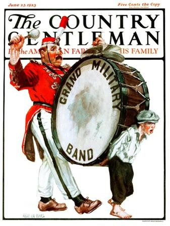 """""""Grand Military Band,"""" Country Gentleman Cover, June 23, 1923"""