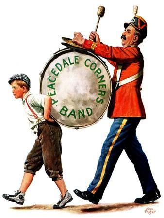 """""""Peacedale Corners Band,""""October 20, 1928"""